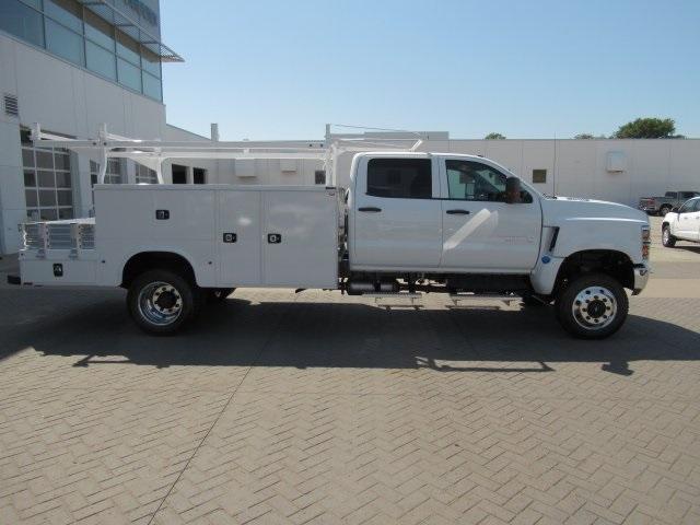 2020 Chevrolet Silverado Medium Duty Crew Cab DRW 4x4, Combo Body #LH173356 - photo 13