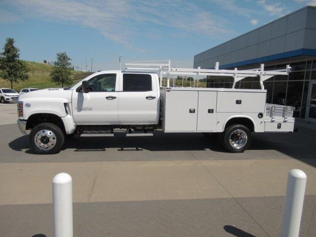 2020 Chevrolet Silverado Medium Duty Crew Cab DRW 4x4, Combo Body #LH173356 - photo 16