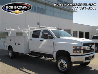2020 Chevrolet Silverado Medium Duty Crew Cab DRW 4x4, Combo Body #LH173356 - photo 1