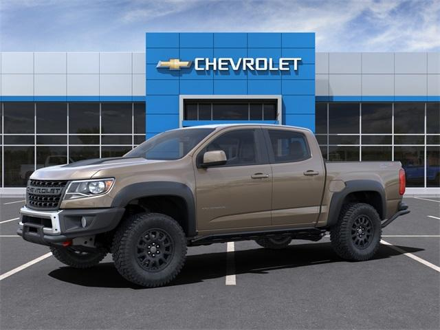 2021 Chevrolet Colorado Crew Cab 4x4, Pickup #M1156118 - photo 3