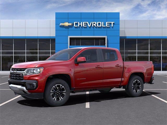 2021 Chevrolet Colorado Crew Cab 4x4, Pickup #M1258553 - photo 2