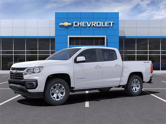 2021 Chevrolet Colorado Crew Cab 4x4, Pickup #M1270427 - photo 3