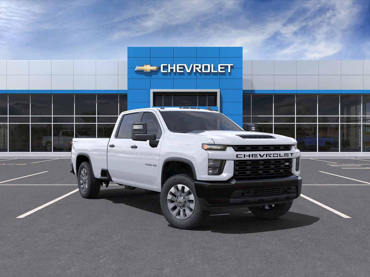 2021 Chevrolet Silverado 2500 Crew Cab 4x4, Pickup #MF284272 - photo 21