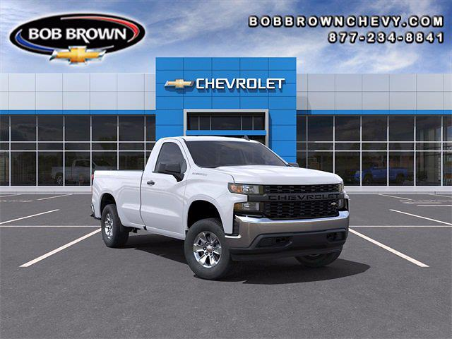 2021 Chevrolet Silverado 1500 Regular Cab 4x2, Pickup #MG318818 - photo 1