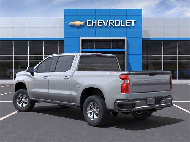 2021 Chevrolet Silverado 1500 Crew Cab 4x4, Pickup #MG321385 - photo 4