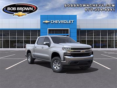 2021 Chevrolet Silverado 1500 Crew Cab 4x4, Pickup #MG321385 - photo 1