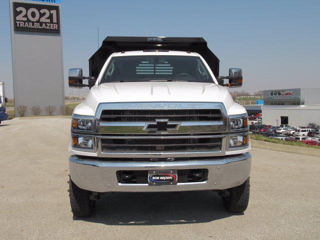 2021 Chevrolet Silverado 5500 DRW 4x4, Dump Body #MH841687 - photo 11