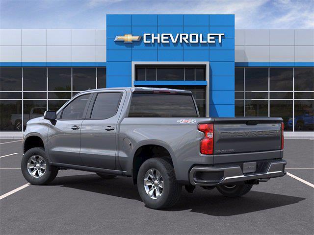 2021 Chevrolet Silverado 1500 Crew Cab 4x4, Pickup #MZ278664 - photo 4
