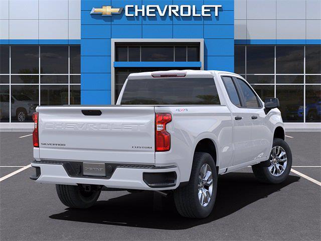 2021 Chevrolet Silverado 1500 Double Cab 4x4, Pickup #MZ300095 - photo 2