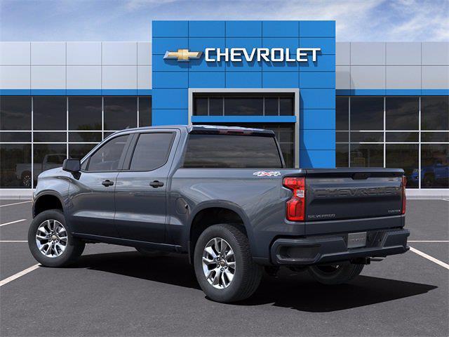 2021 Chevrolet Silverado 1500 Crew Cab 4x4, Pickup #MZ309021 - photo 4