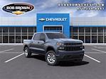 2021 Chevrolet Silverado 1500 Crew Cab 4x4, Pickup #MZ309221 - photo 1