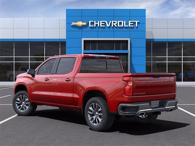 2021 Chevrolet Silverado 1500 Crew Cab 4x4, Pickup #MZ311589 - photo 4