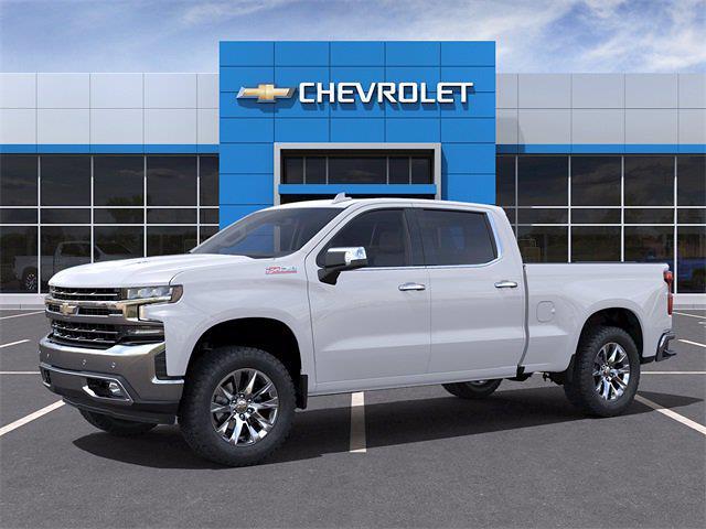 2021 Chevrolet Silverado 1500 Crew Cab 4x4, Pickup #MZ368305 - photo 3