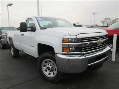 2016 Silverado 3500 Regular Cab 4x4 Pickup #109206 - photo 3