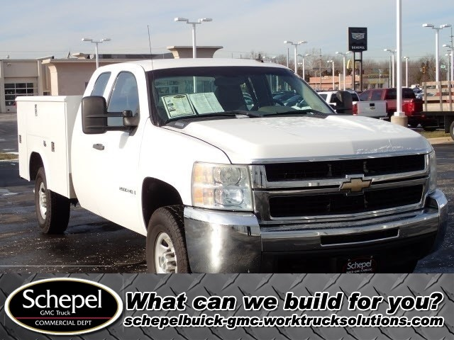 2008 Silverado 1500 Extended Cab 4x4,  Service Body #109579 - photo 1
