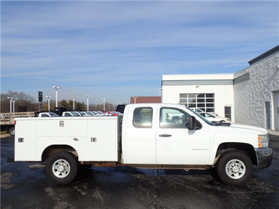 2008 Silverado 1500 Extended Cab 4x4,  Service Body #109579 - photo 8
