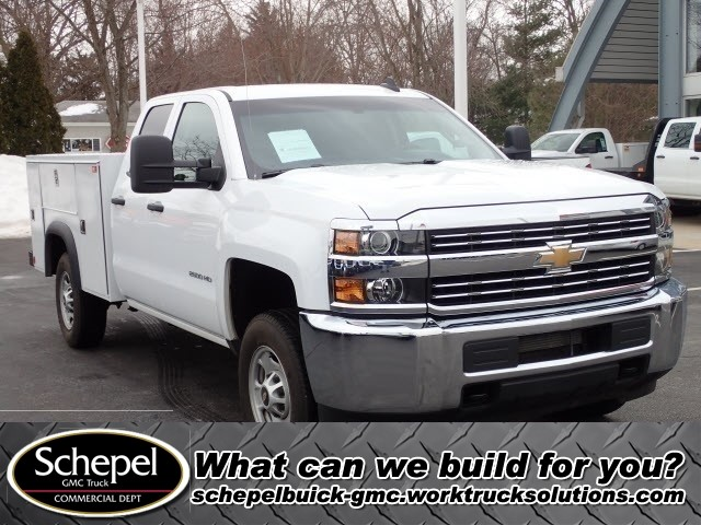 2017 Silverado 2500 Double Cab 4x2,  Service Body #109780 - photo 1