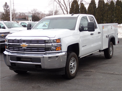 2017 Silverado 2500 Double Cab 4x2,  Service Body #109780 - photo 5