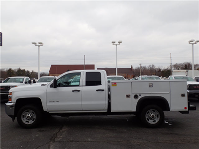 2017 Silverado 2500 Double Cab 4x2,  Service Body #109780 - photo 6