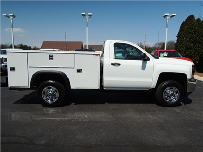 2017 Silverado 2500 Regular Cab 4x2,  Service Body #109787 - photo 10