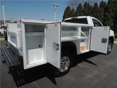 2017 Silverado 2500 Regular Cab 4x2,  Service Body #109787 - photo 12