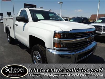 2017 Silverado 2500 Regular Cab 4x2,  Service Body #109787 - photo 1