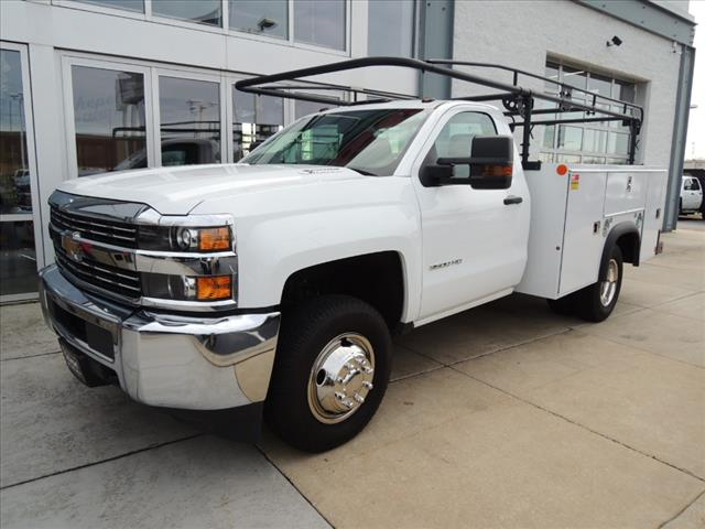 2016 Silverado 3500 Regular Cab DRW 4x4,  Service Body #109795 - photo 4