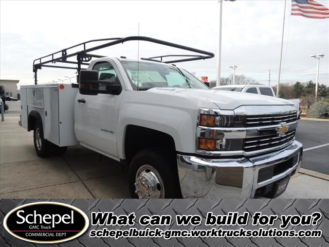 2016 Silverado 3500 Regular Cab DRW 4x4,  Service Body #109795 - photo 1