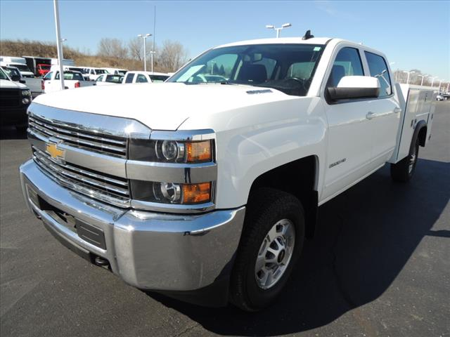 2015 Silverado 2500 Crew Cab 4x4,  Service Body #109847 - photo 4