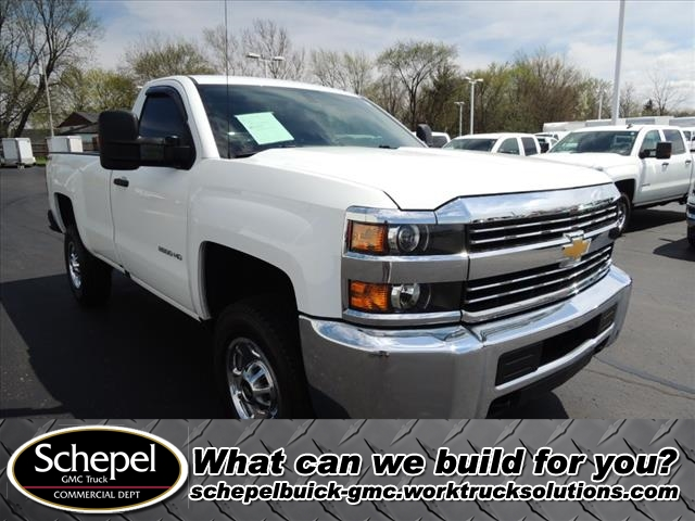 2016 Silverado 2500 Regular Cab 4x4,  Pickup #109976 - photo 30