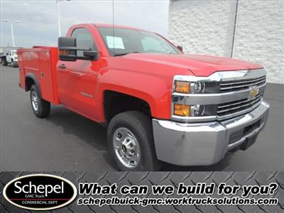 2015 Silverado 2500 Regular Cab 4x4,  Service Body #109977 - photo 1