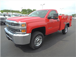 2015 Silverado 2500 Regular Cab 4x4,  Service Body #109977 - photo 4