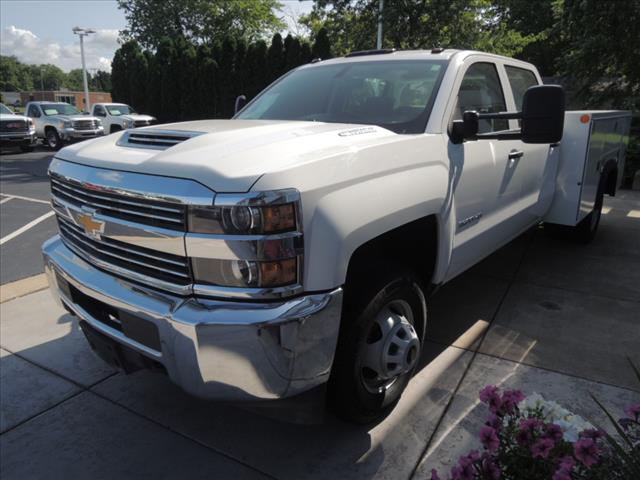 2017 Silverado 3500 Crew Cab 4x4,  Service Body #110022 - photo 4