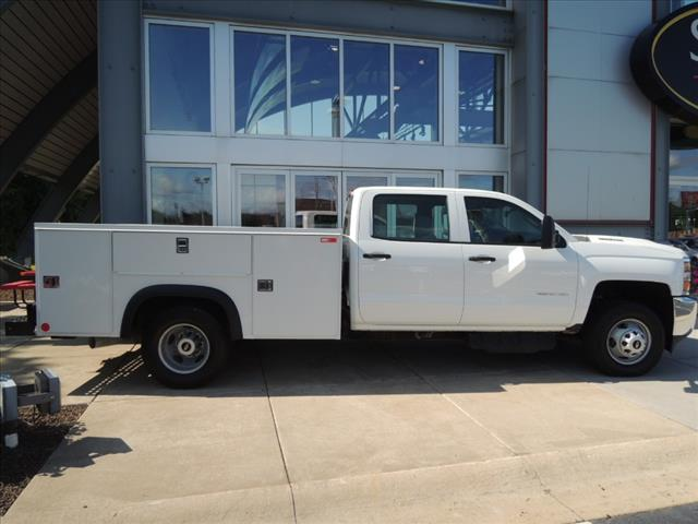 2017 Silverado 3500 Crew Cab 4x4,  Service Body #110022 - photo 8