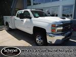 2017 Silverado 3500 Crew Cab 4x4,  Service Body #110022 - photo 1