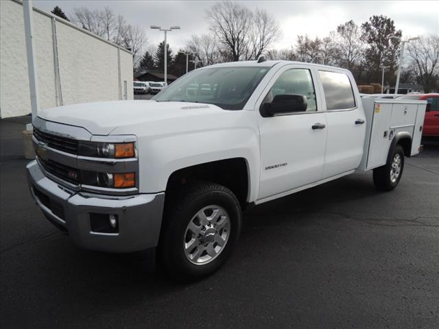 2015 Silverado 2500 Crew Cab 4x4,  Service Body #110068 - photo 4