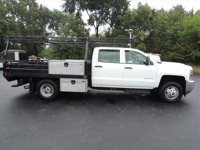 2017 Silverado 3500 Crew Cab 4x4,  Combo Body #110073 - photo 10