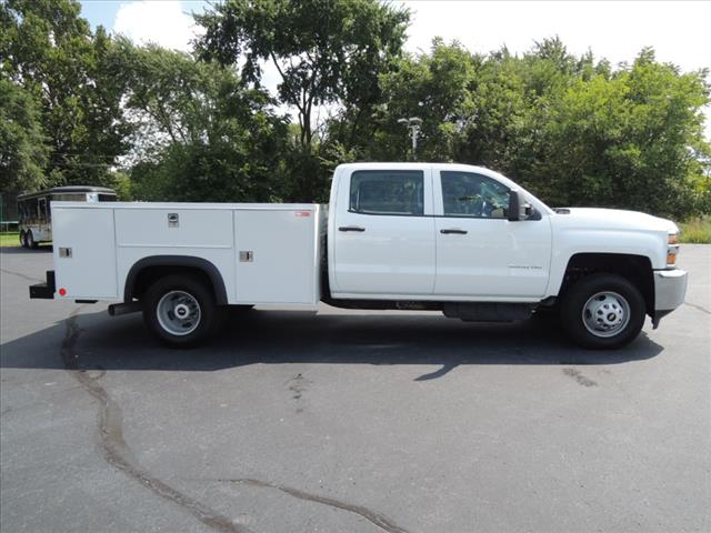2017 Silverado 3500 Crew Cab DRW 4x4,  Service Body #110074 - photo 10