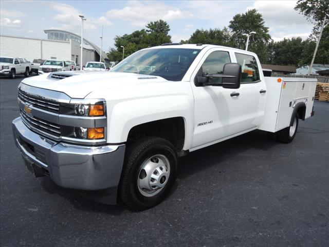 2017 Silverado 3500 Crew Cab DRW 4x4,  Service Body #110074 - photo 4