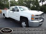 2017 Silverado 3500 Crew Cab DRW 4x4,  Service Body #110074 - photo 1