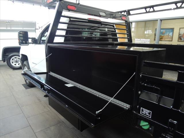 2016 Silverado 3500 Regular Cab DRW 4x4,  Combo Body #110093 - photo 11