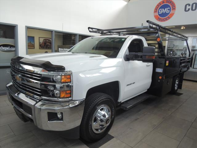 2016 Silverado 3500 Regular Cab DRW 4x4,  Combo Body #110093 - photo 4