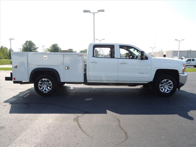 2016 Silverado 3500 Crew Cab 4x4,  Service Body #110194 - photo 10
