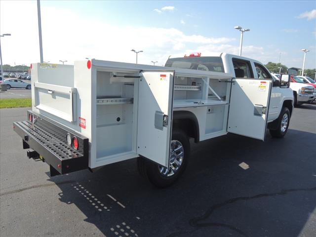 2016 Silverado 3500 Crew Cab 4x4,  Service Body #110194 - photo 12