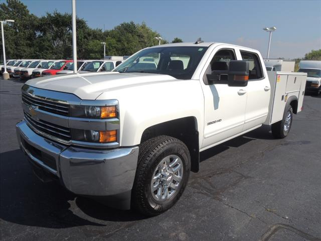 2016 Silverado 3500 Crew Cab 4x4,  Service Body #110194 - photo 4