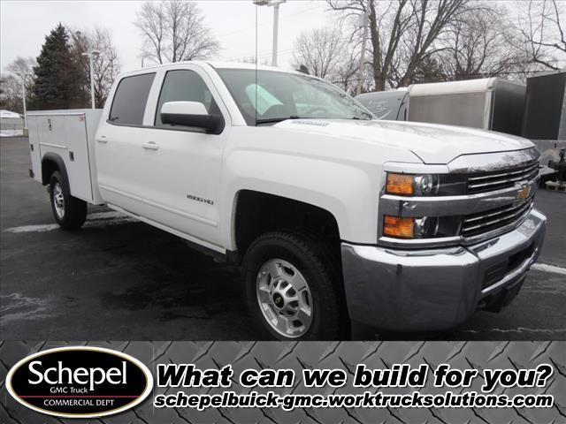 2015 Silverado 2500 Crew Cab 4x4, Monroe Service Body #110303 - photo 1
