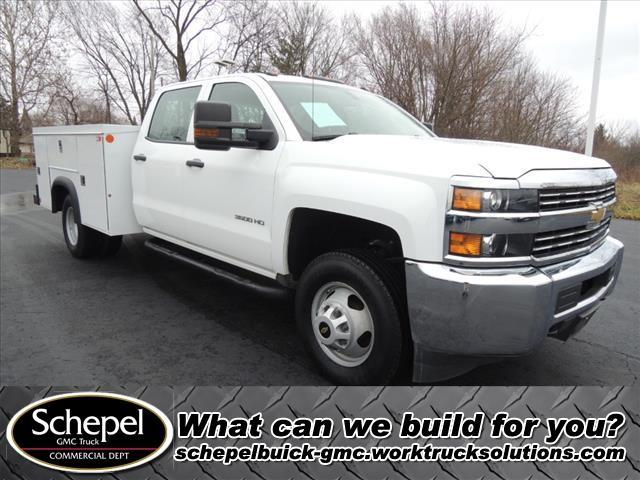 2015 Silverado 3500 Crew Cab DRW 4x2, Monroe Service Body #110354 - photo 1