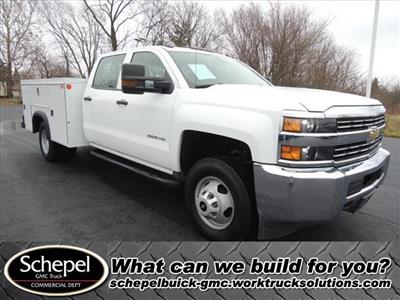 2015 Silverado 3500 Crew Cab DRW 4x2,  Service Body #110354 - photo 1