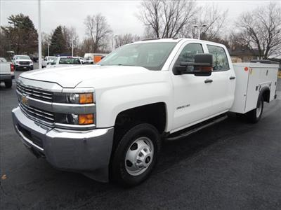 2015 Silverado 3500 Crew Cab DRW 4x2,  Service Body #110354 - photo 4