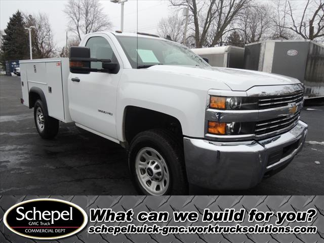 2016 Silverado 3500 Regular Cab 4x4, Monroe Service Body #110359 - photo 1